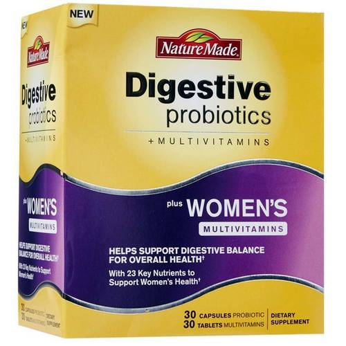 Digestive Probiotics Plus Women's Multivitamins