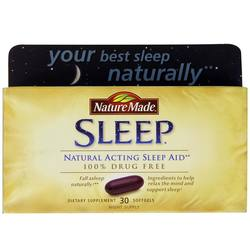 Nature Made Natural Acting Sleep Aid