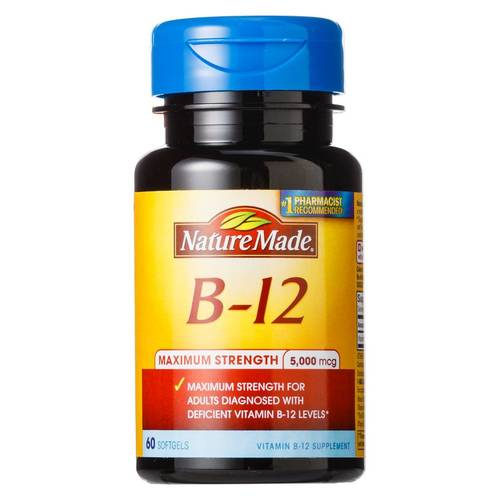 Maximum Strength B-12 5000 mg