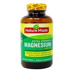 Nature Made Extra Strength Magnesium 400 mg