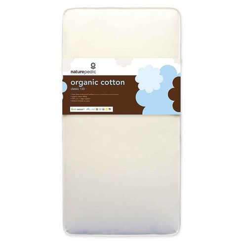 Naturepedic No Compromise Organic Cotton Classic 150 Crib Mattress  - 1 Crib Mattress