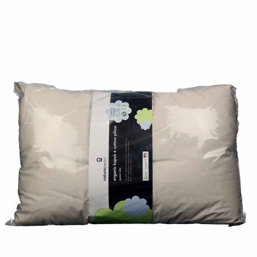 Organic Kapok and Cotton Pillow