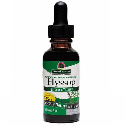 Nature's Answer Hyssop Herb AF Alcohol Free - 1 oz - 1970.jpg
