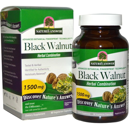 Nature's Answer Black Walnut Complex - 1,500 mg - 90 Capsules - 2062_01.jpg