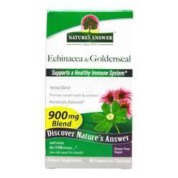 Nature's Answer Echinacea and Goldenseal Root