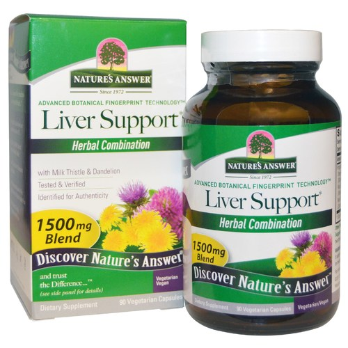 Nature's Answer Liver Support V-Caps  - 90 Capsules - 2081_01.jpg
