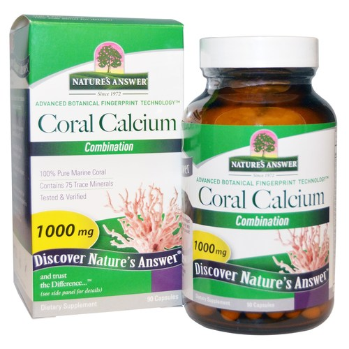 Nature's Answer Coral Calcium Choice  - 90 Capsules - 22968_01.jpg