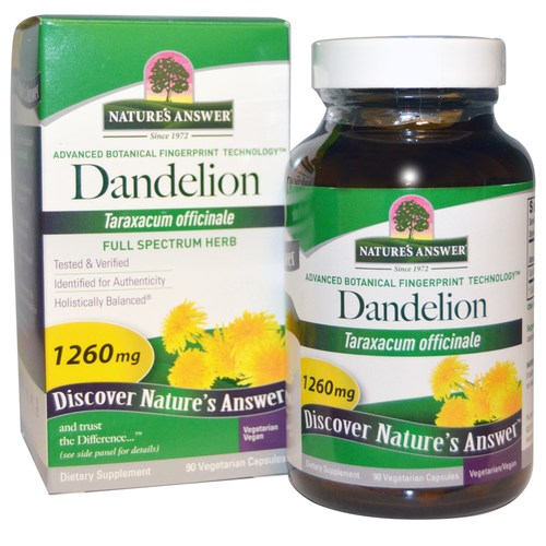 Dandelion Root 1,260 mg
