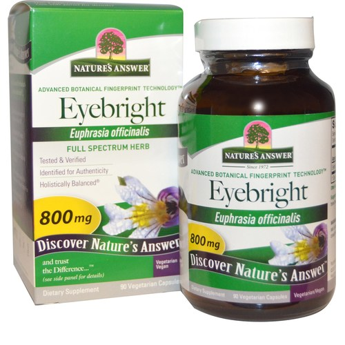 Eyebright Herb 800 mg