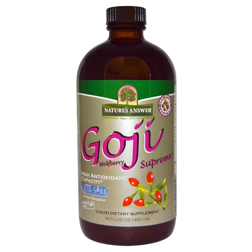 Liquid Goji Wolfberry Supreme with ORAC Super 7
