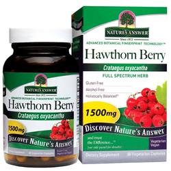 Nature's Answer Hawthorn Berry 1-500 mg