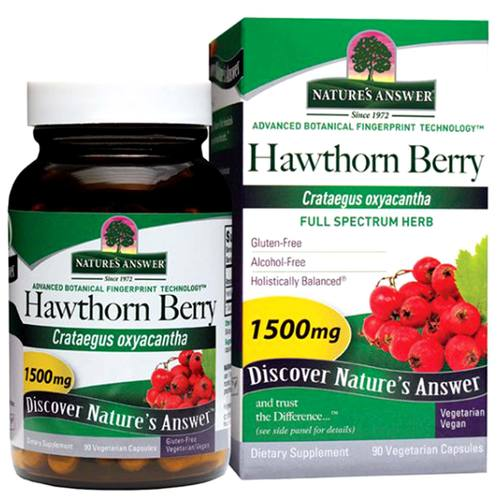 Hawthorn Berry 1,500 mg