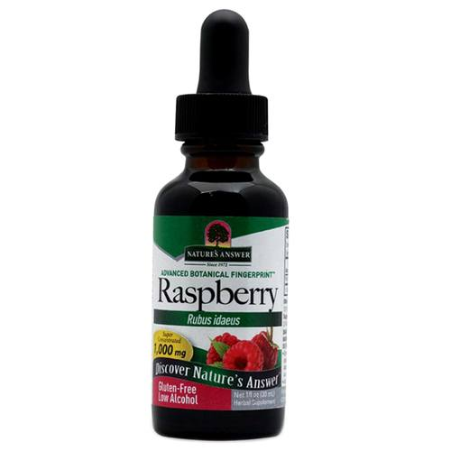 Raspberry Leaf Organic Alcohol Extract