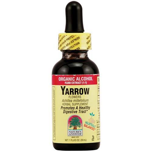 Yarrow Flowers Fluid Extract