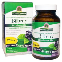 Nature's Answer Bilberry Standardized Extract