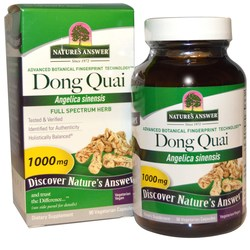 Nature's Answer Dong Quai Root 1,000 mg