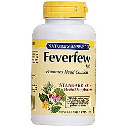 Nature's Answer Feverfew Standardized Herb Extract