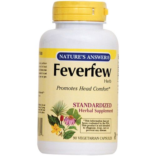 Feverfew Standardized Herb Extract
