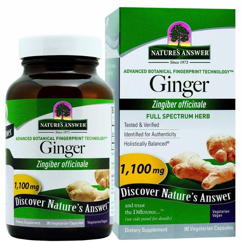 Nature's Answer Ginger Rhizome 1-100 mg  - 90 VCapsules - 29522.jpg