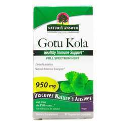 Nature's Answer Gotu Kola Herb 950 mg