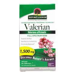 Nature's Answer Organic Valerian Root
