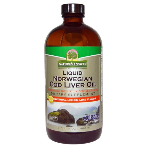 Liquid Norwegian Cod Liver Oil