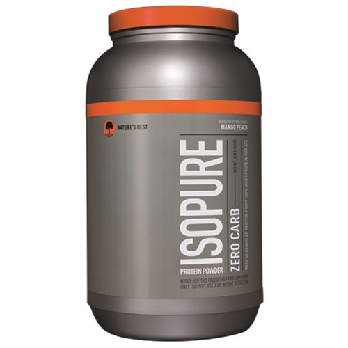 Nature's Best Zero Carb Isopure Mango Peach - 3 lbs - 10105_01.jpg