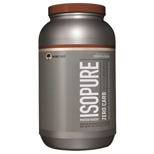 Nature's Best Zero Carb Isopure Cookies N Cream - 3 lbs - 10121_01.jpg