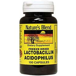 Nature's Blend Freeze Dried Lactobacillus Acidophilus