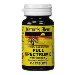 Nature's Blend Full Spectrum B With Vitamin C