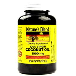 Nature's Blend Coconut Oil 1000 mg
