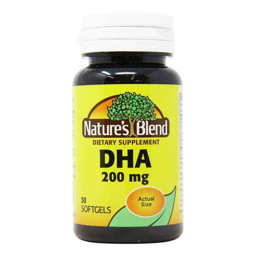 Nature's Blend DHA 200 mg - 30 Softgels - 149683_front2020.jpg