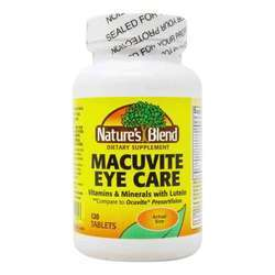 Nature's Blend Macuvite Eye Care