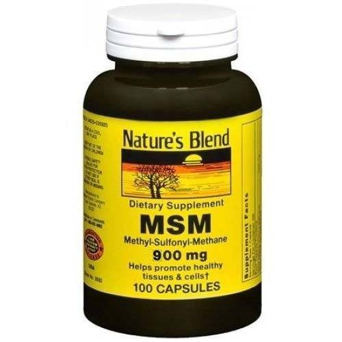 Nature's Blend MSM 900 mg  - 100 Capsules