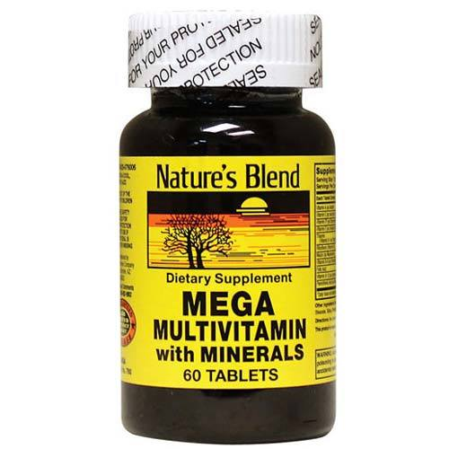 Mega Multivitamin with Minerals
