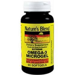 Nature's Blend Extreme Omega-3 Microgel