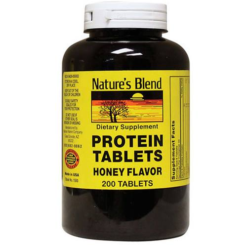 Chewable Protein Tablets