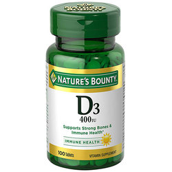 Nature's Bounty D3