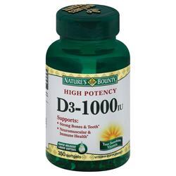Nature's Bounty High Potency D3