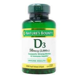 Nature's Bounty Vitamin D3