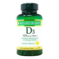 Nature's Bounty Maximum Strength Vitamin D3