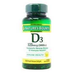Nature's Bounty Vitamin D3 Rapid Release