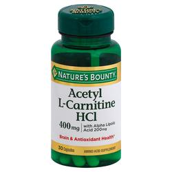 Nature's Bounty Acetyl L-Carnitine HCL