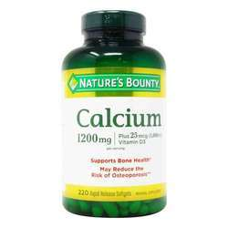 Nature's Bounty Liquid Filled Absorbable Calcium