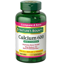 Nature's Bounty Calcium 600