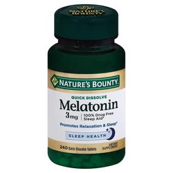 Nature's Bounty Quick Dissolve Melatonin