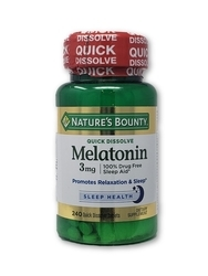 Nature's Bounty Quick Dissolve Melatonin