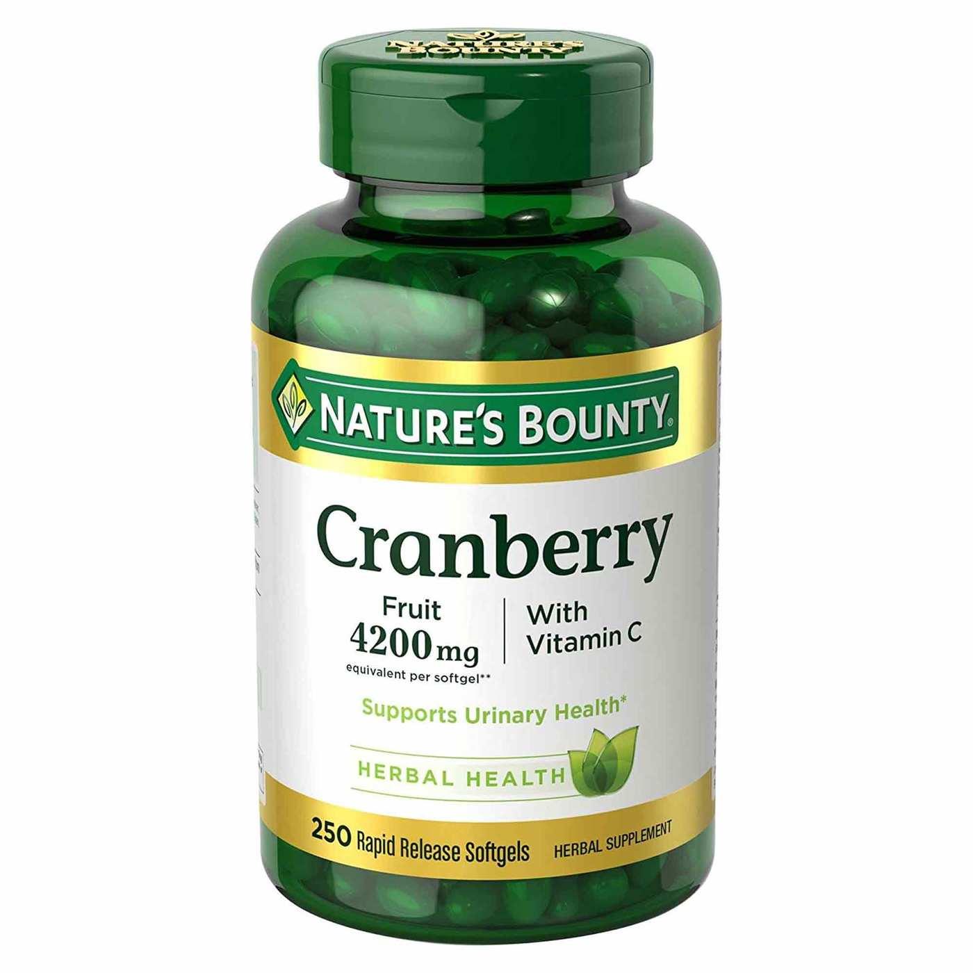 Nature S Bounty Cranberry Cvs