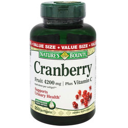 Nature's Bounty Cranberry Plus Vitamin C