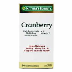 Nature's Bounty Cranberry with Vitamin C 25,200 mg